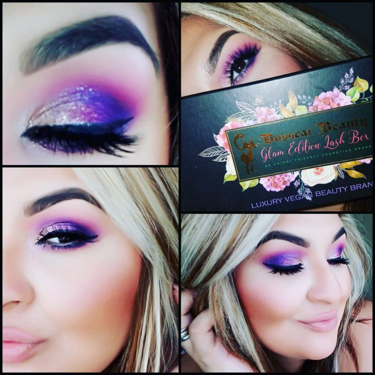 Bosscat Beauty, American lashes, American lash brand, animal friendly beauty, Glam Edition Lash Box, Vegan Lashes, silk lashes, glam lash, luxury lashes, Luxor Living and Style, Texas lashes,